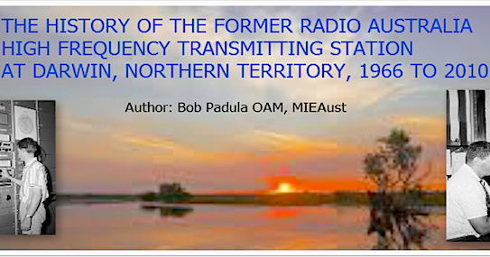 Mount Evelyn Dx Report Radio Australia Darwin Transmitter