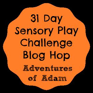 http://adventuresofadam.co.uk/31-day-sensory-play-challenge-information/