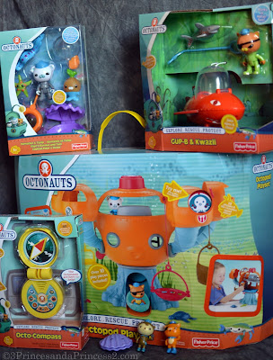 Fisher Price octonaut toys