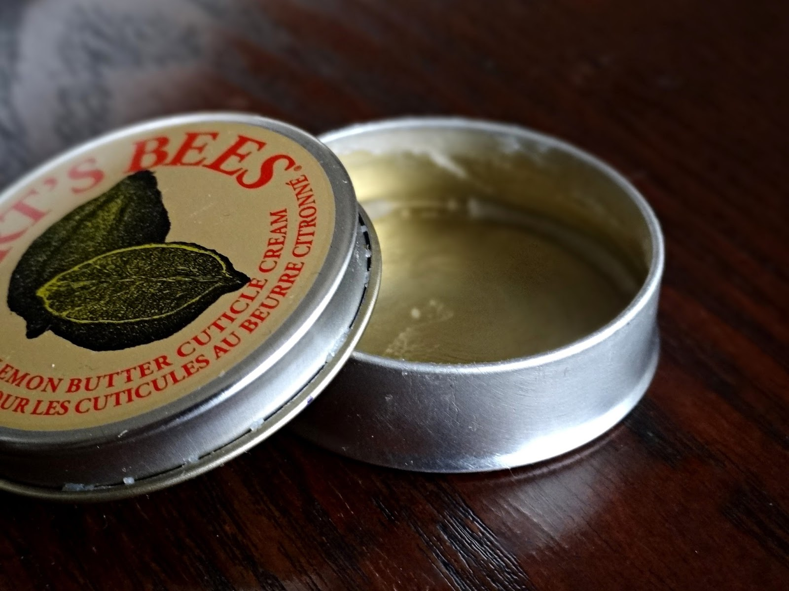 Burt's Bees Lemon Butter Cuticle Cream Review, Photos