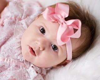 foto lucu bayi perempuan