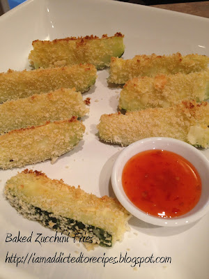 Baked Zucchini Fries | Addicted to Recipes