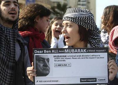 Internet, uno de los motores en las revueltas árabes