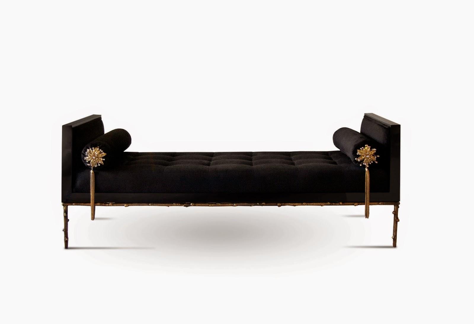 Dise o interior glosario de muebles for Almohadones divan