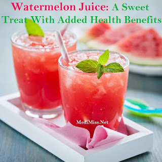 Watermelon Juice  A Sweet Treat With Added Health Benefits