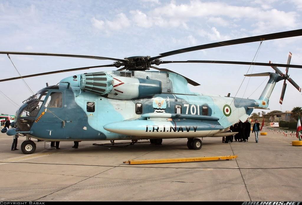 Fuerzas Armadas de Iran Sikorsky+RH-53D+Sea+Stallion+(S-65)+irani