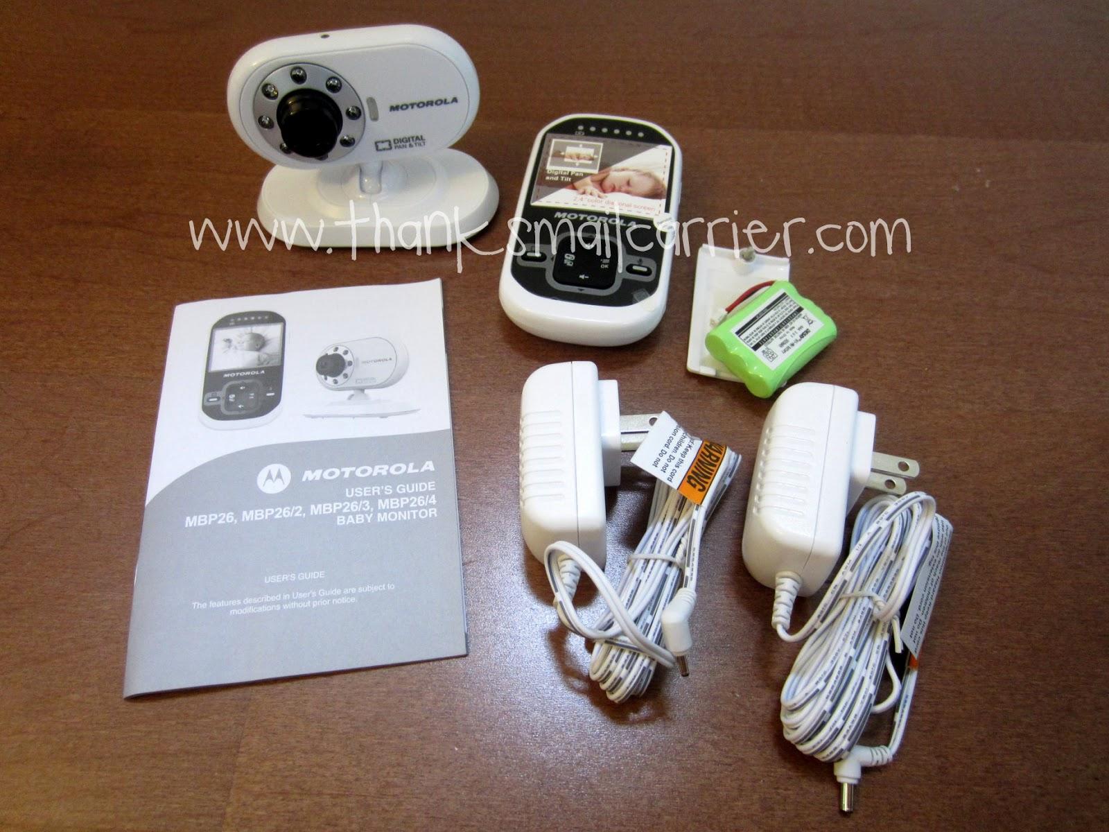 Motorola MPB26 Baby Monitor