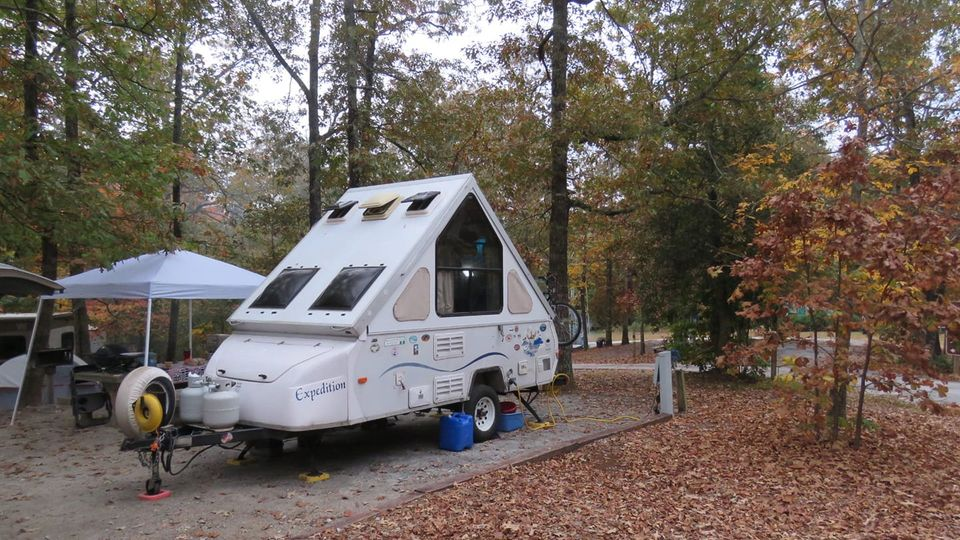 Our Aliner Expedition pop up camper