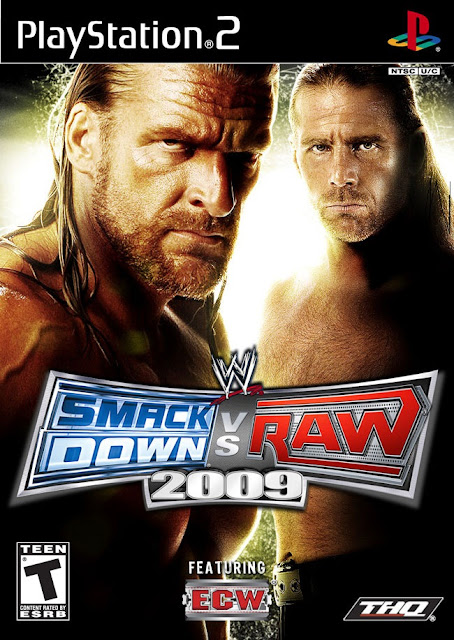Download Smackdown VS Raw 2009 Free PC Game Setup