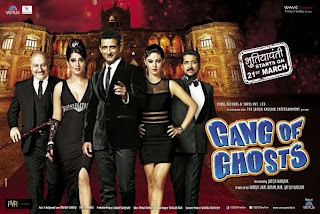 Gang of Ghosts First Look Poster - Sharman Joshi