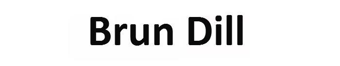 Brun Dill