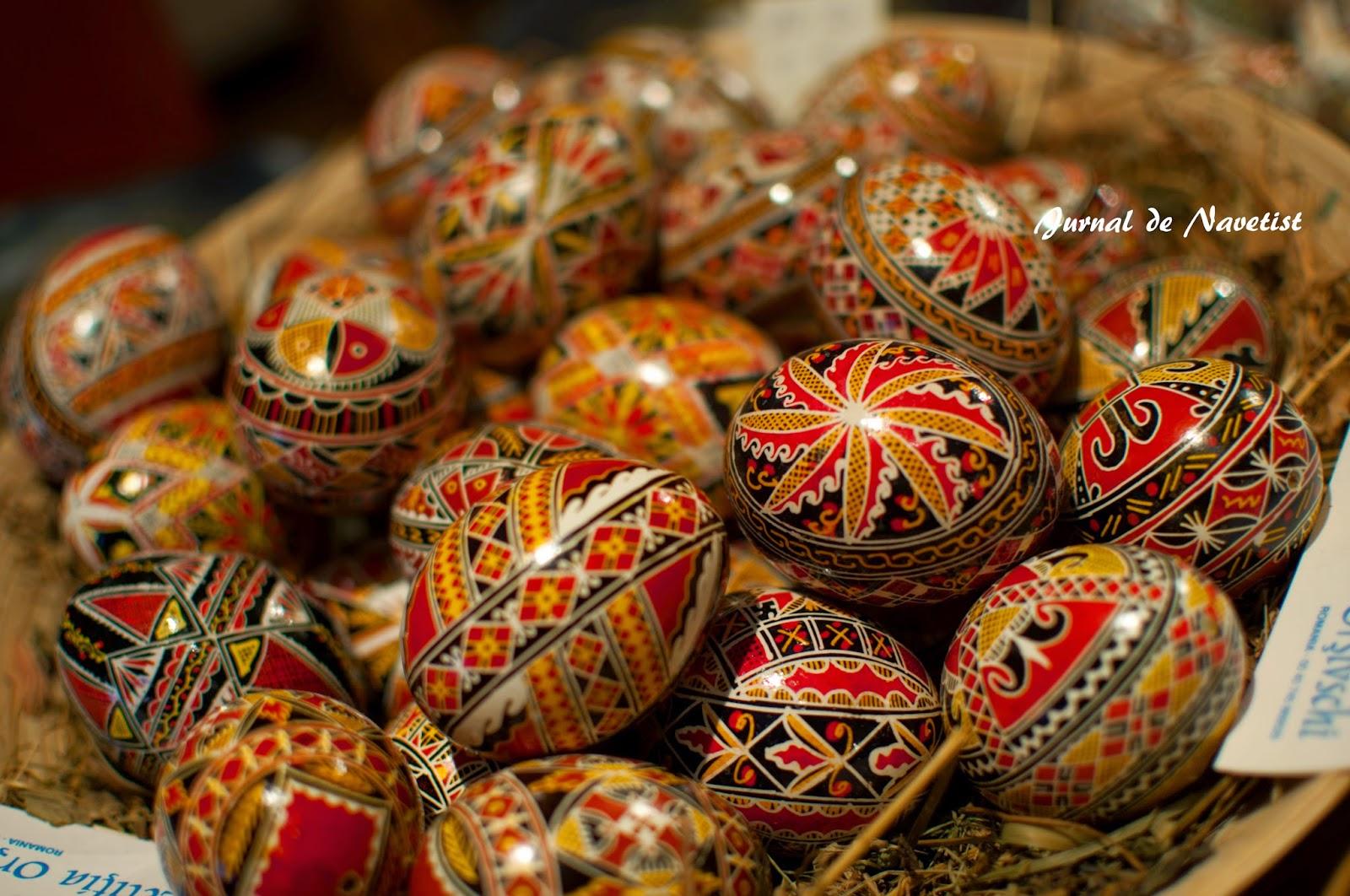 Jurnal de navetist un capolavoro su un uovo di pasqua - Uova di pasqua decorati a mano ...