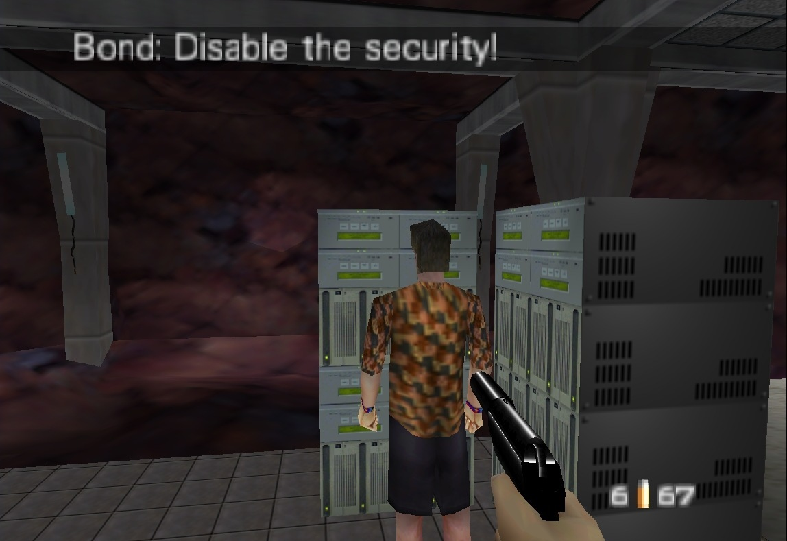 N64 Goldeneye Cheats