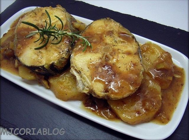 Mjcoriablog Merluza En Salsa Facil