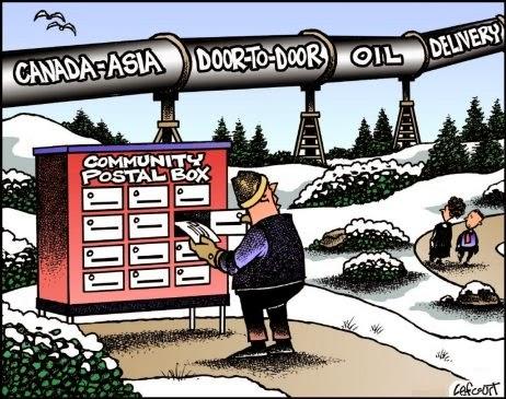 Jack Lefcourt: Canada Post cf. Pipelines.
