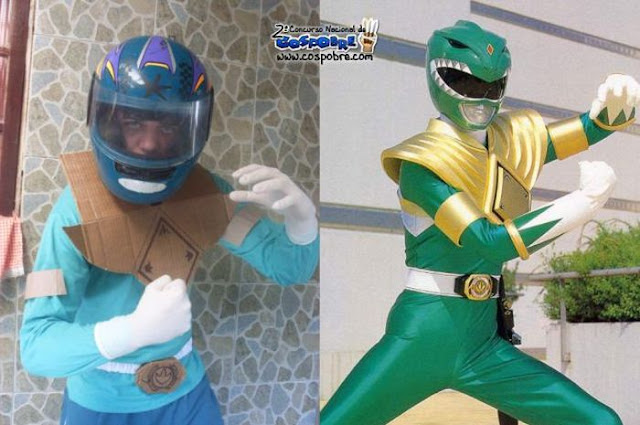 Cosplay Power Ranger