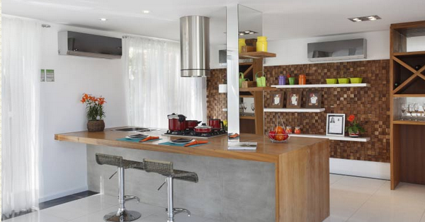 Cocinas estilo americano dise o y decoraci n - Diseno cocina americana ...