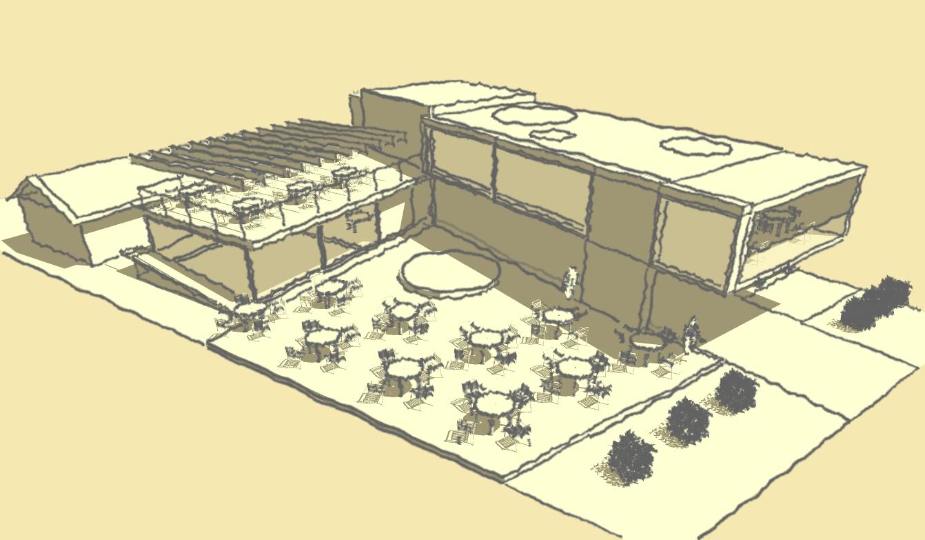 Casacien arquitectura proyecto restaurante for Proyecto restaurante pdf