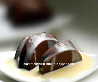 Resep cara Membuat Puding Coklat