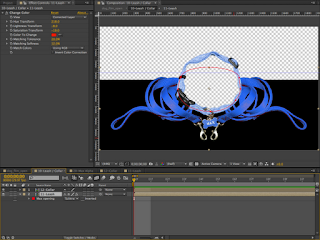 Adobe After Effects composite with both the Leash and Collar comps.