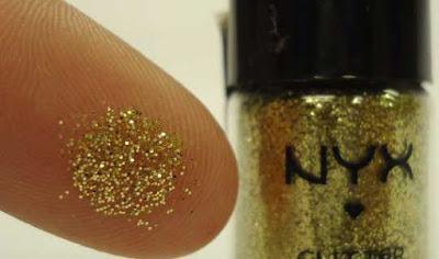 sombra dourada nyx pigmento