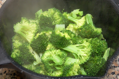 Curry Broccoli and Couscous