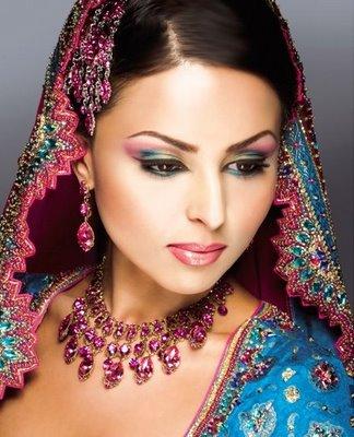 arabic wedding makeup. arabic bridal makeup.