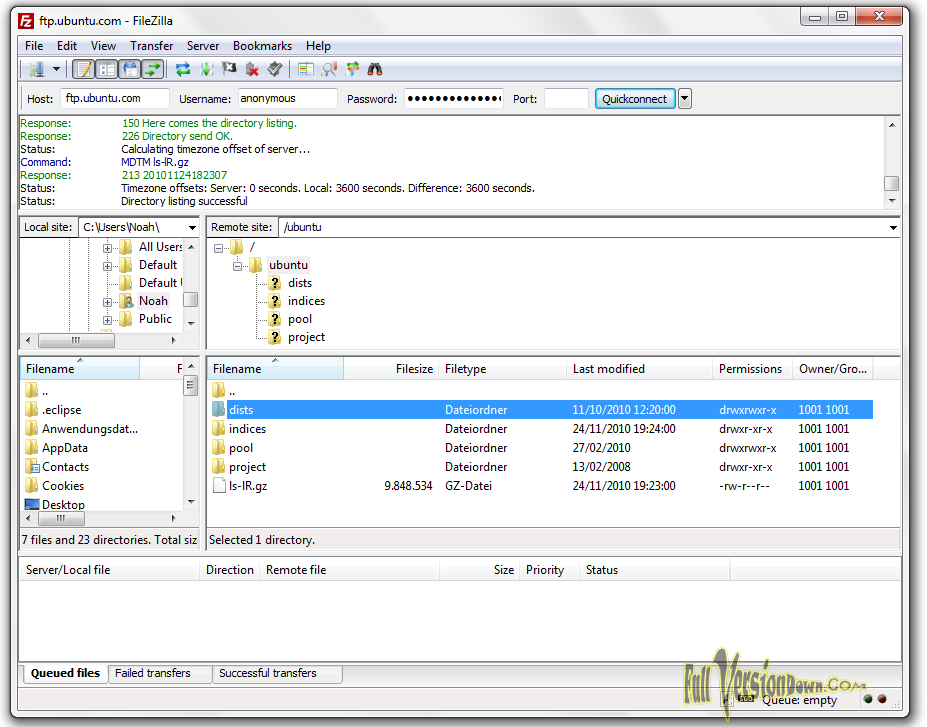 Free Download FileZilla 3.25.0 Latest Version