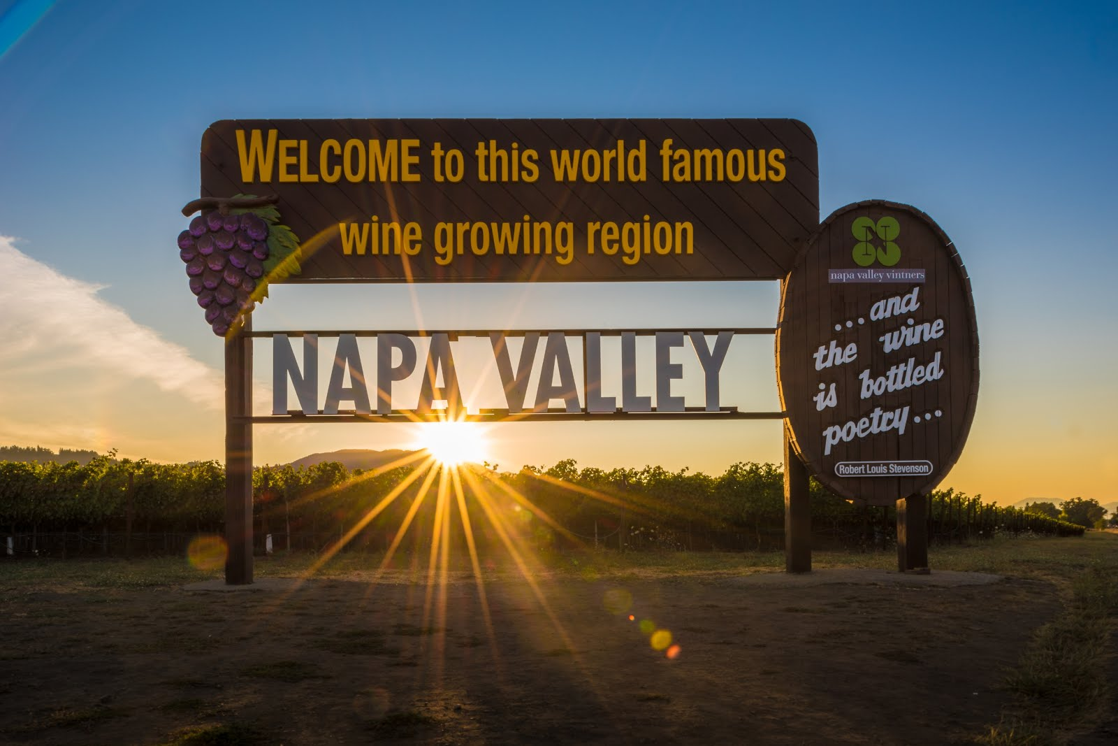 Napa Valley is alive and well.