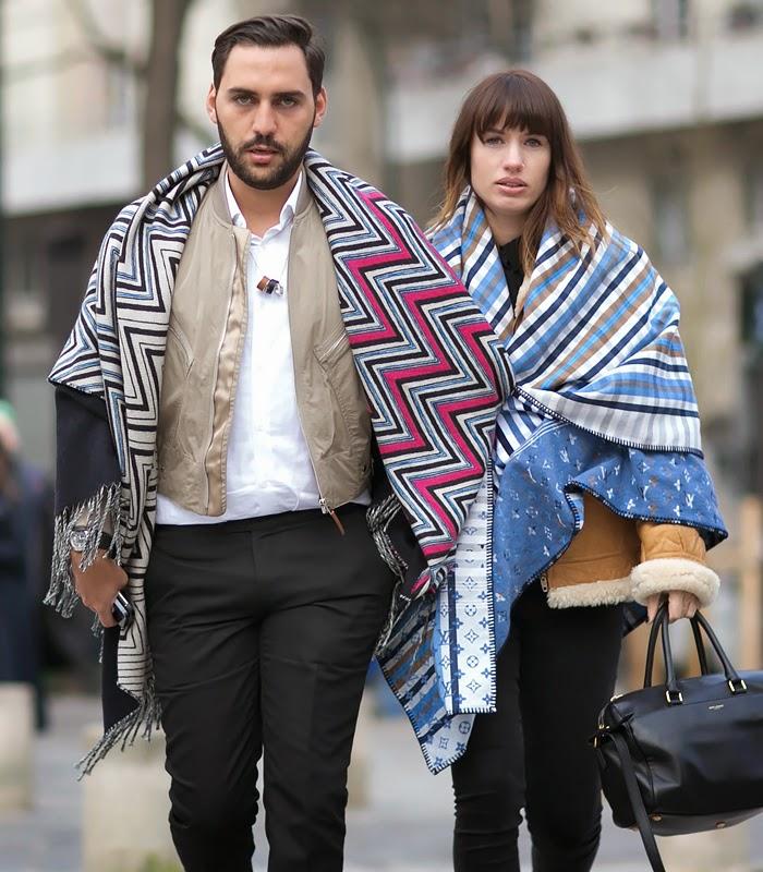 Paris Men's Fashion Week Fall/Winter 2015 Street Style