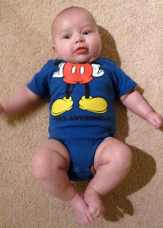 Freddie as Mickey Mouse