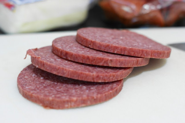 Salami for Antipasto Pasta Salad