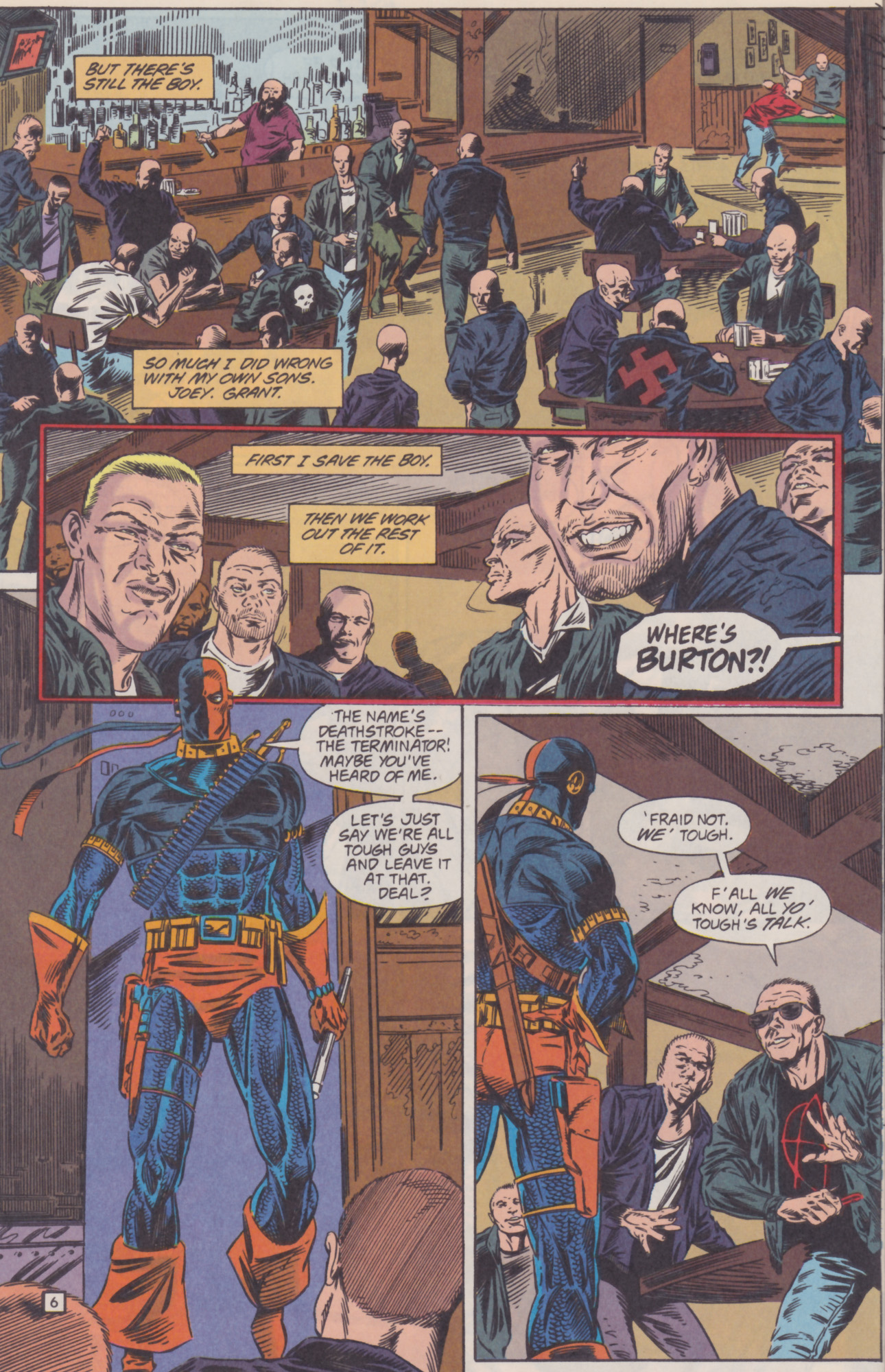 Deathstroke (1991) Issue #22 #27 - English 7