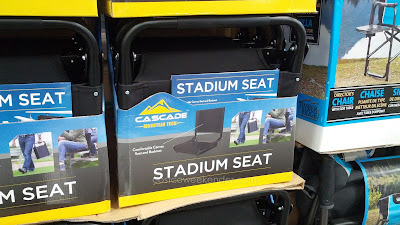 Cascade Mountain Tech Stadium Seat for when you must sit on hard bleachers