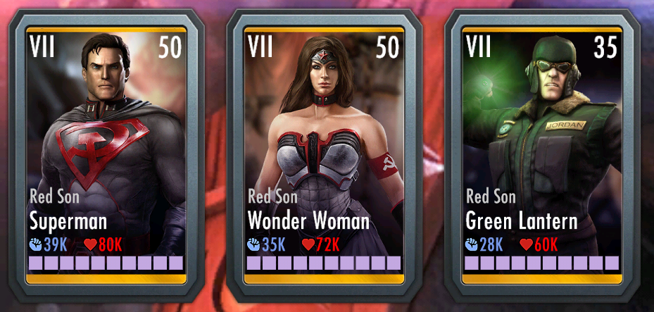 Red Son Pack  Injustice Mobile Wiki