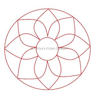 2 Navagraha Kolam | Kethu Bhagavan | Saturday