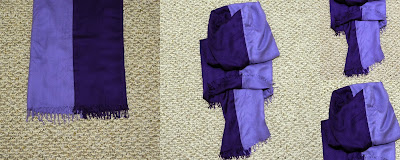 pashmina, infinity scarf, winter, DIY, sewing tutorial