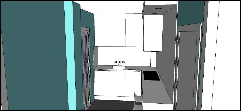 Los hogares que habitamos proyecto cocina laura for Halogenos para cocina