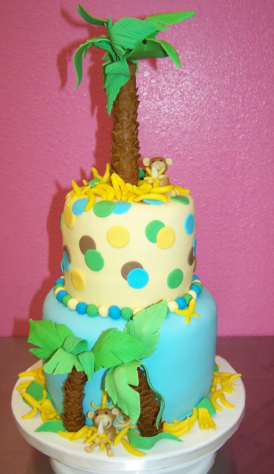 Image Result For Happy Birthday Monkey Cake