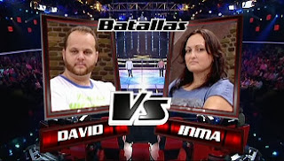 David Barrul e Inma Herrera-Batallas La Voz