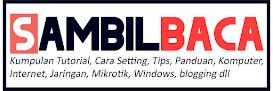 sambilbaca.com | Kumpulan Tutorial Ter Update