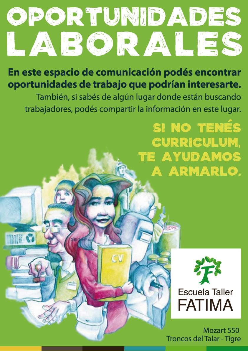 Escuela Taller Fatima: El taller Fátima creó una cartelera de ...