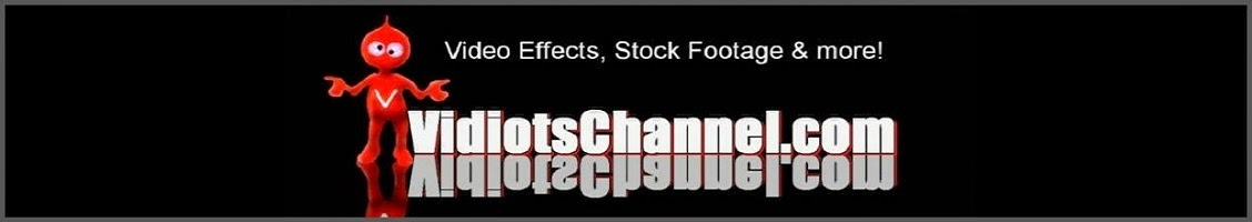 Vidiots Channel Free Video Effects, Free Stock Footage, Digital Download Store & more!
