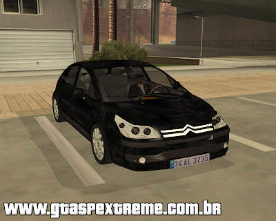 Citroen C4 SX 1.6 HDI para grand theft auto