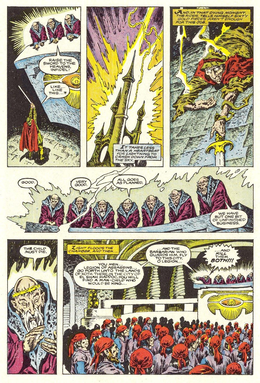 Conan the Barbarian (1970) Issue #187 #199 - English 5