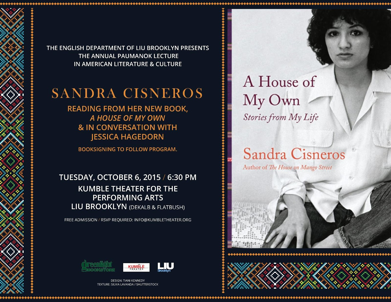 a biography of sandra cisneros an american novelist The experiences of esperanza, the adolescent protagonist of the house on mango street, closely resemble those of sandra cisneros's childhoodthe author was born to a mexican father and a mexican american mother in 1954 in chicago, illinois, the only daughter of seven children.