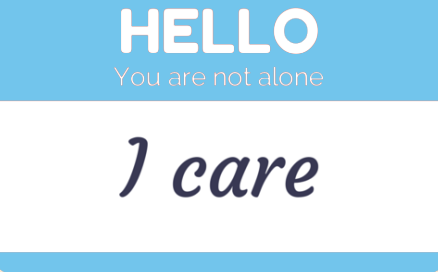 The Sign You Need. You are not Alone!