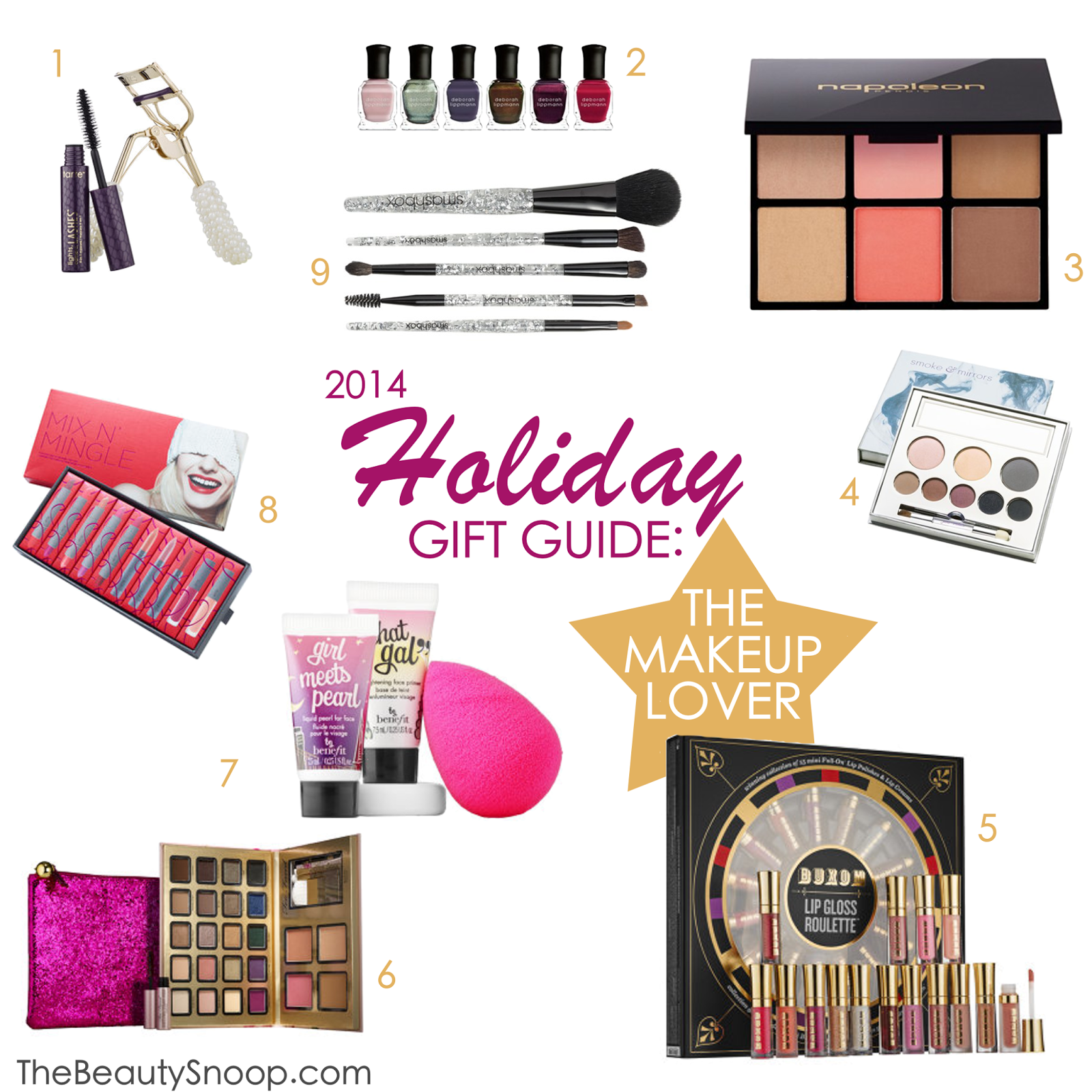The best gifts for the gal who loves makeup this christmas 2014