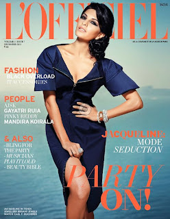 Jacqueline Fernandez – L'Officiel India Dec 2012 Photoshoot