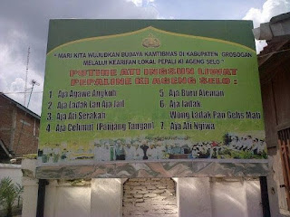 Terjemahan Pepali Ki Ageng Selo